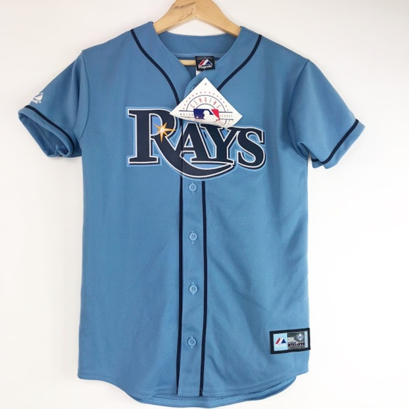 finest selection 35b6a 5448e Tampa Bay Rays Jersey NWT NWT